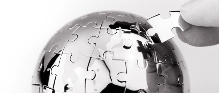 globe missing piece jigsaw