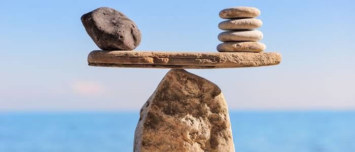 balancing stone scales
