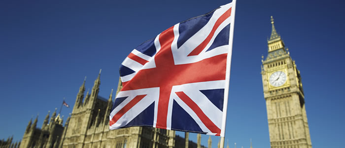 union jack in front of big ben