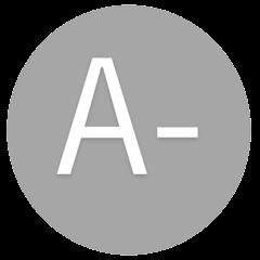 A- icon