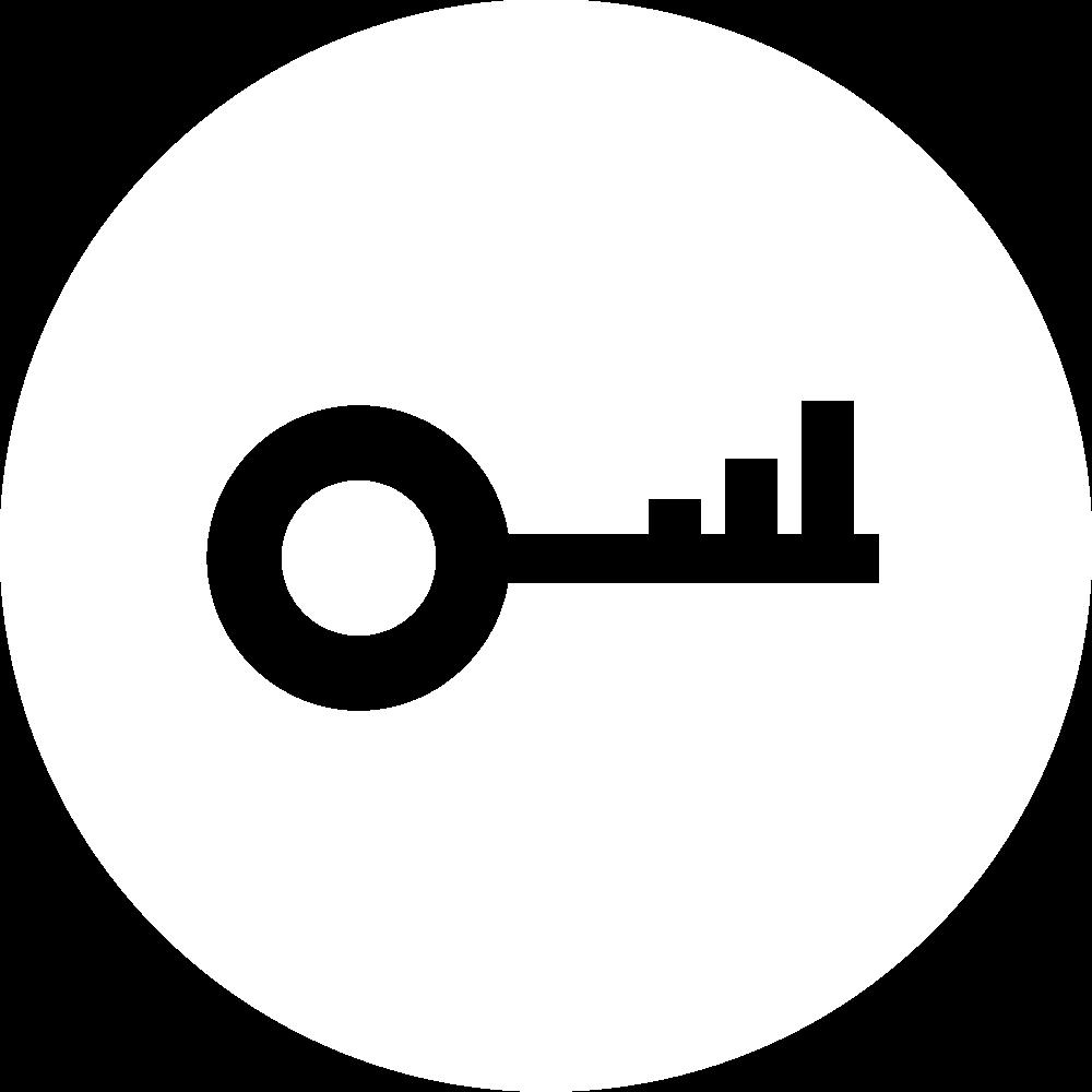 key white icon