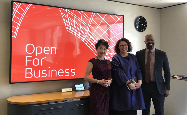 Open For Business Roundtable event Hong Kong