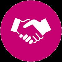 hand shake icon