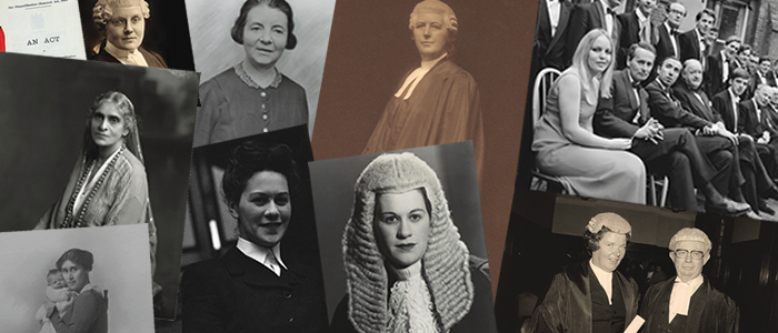 100 Years of women in law