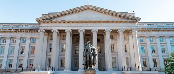 us treasury building