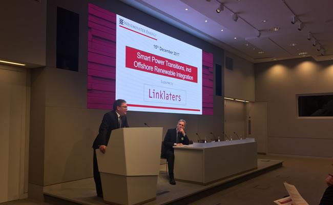Linklaters hosts Westminster Energy Forum Photo