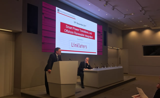 Linklaters hosts Westminster Energy Forum Photo