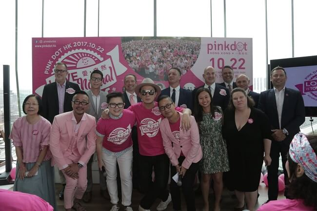 Linklaters is Platinum sponsor of Pink Dot for the 4th Year