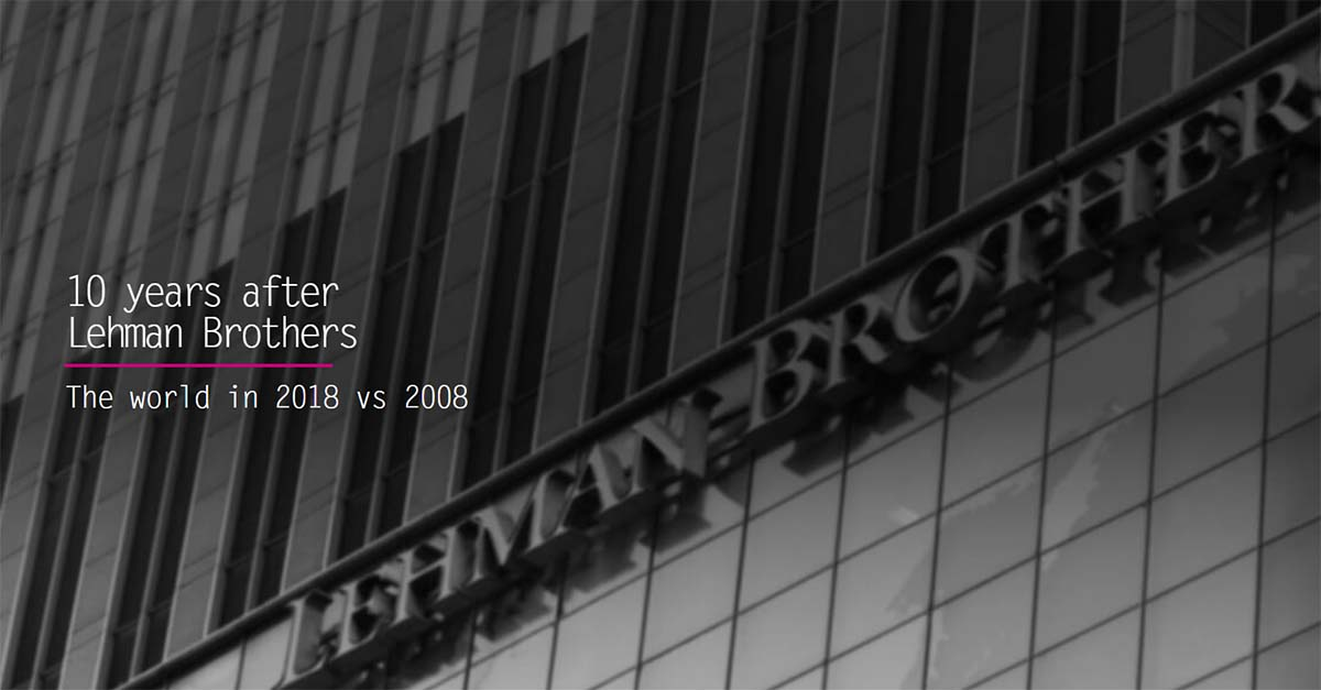 lehman brothers collapse 10 years on