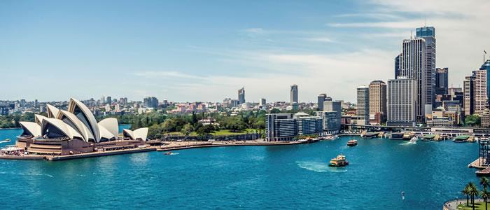 image of Sydney harbour Australia