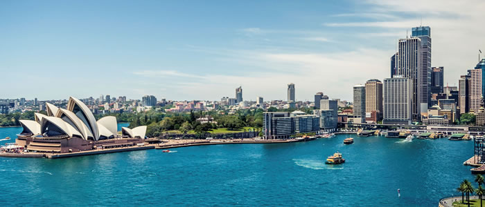 image of Sydney harbour Australia