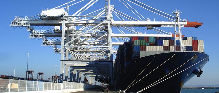 crane in shipyard
