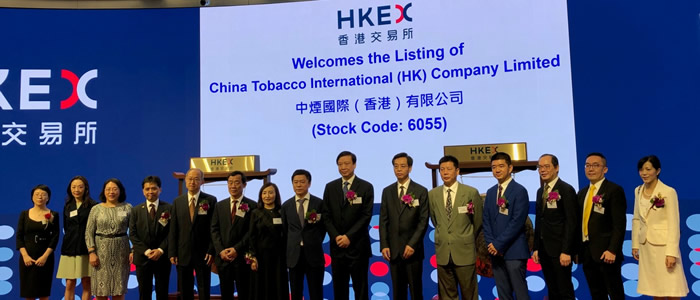 HKEX China Tobacco Internation listing